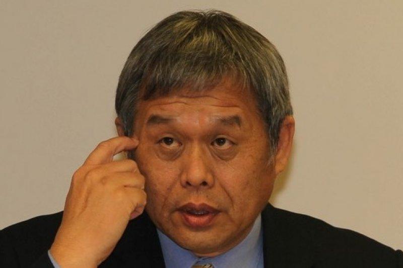 勞委會主委潘世偉確定真除升格後的勞動部長。(吳逸驊攝)