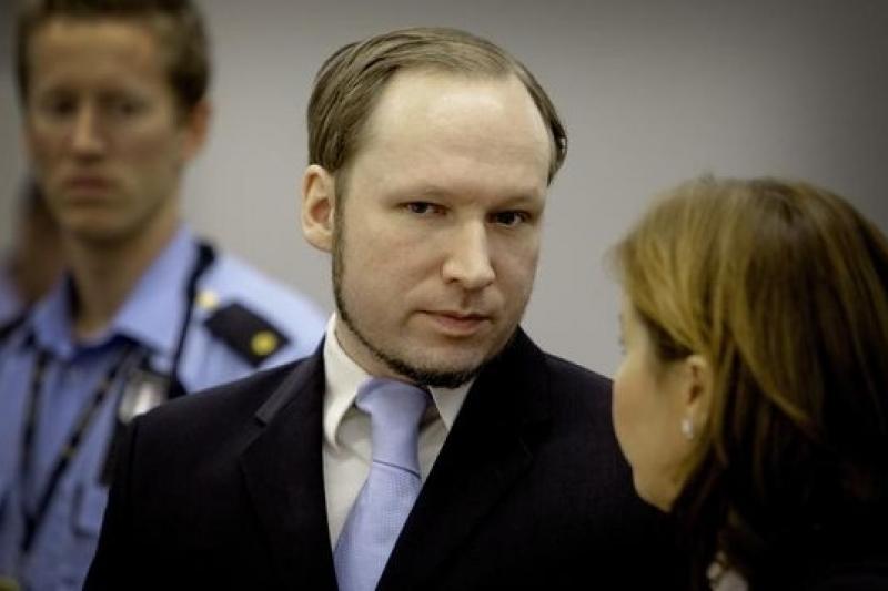2011年殘殺77人、造成319人受傷的挪威殺人魔布雷維克。(取自網路)