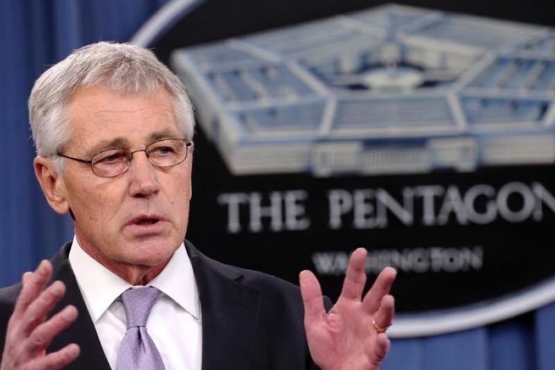 美國國防部長哈格爾即將提出五角大廈最新預算案。(美聯社)
