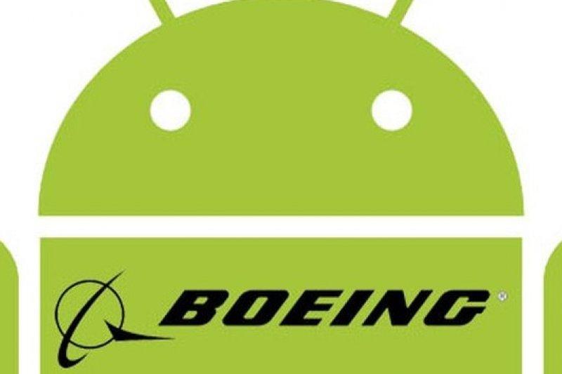 美國航空大廠波音宣布投入智慧手機市場。(取自網路)