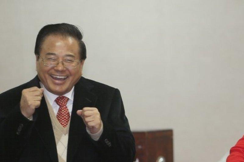 立院新會期司法委員會開票,國民黨立委廖正井(左)拿下召委。(吳逸驊攝)