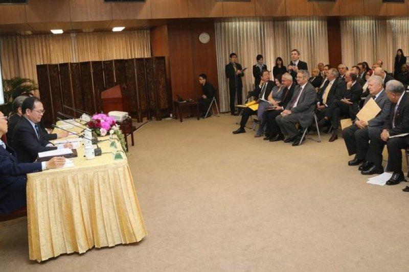 陸委會副主委林祖嘉表示,進行政治對話前,兩岸必須正視彼此存在的現實,而這也正是王郁琦訪問中國的重要意義。(吳逸驊攝)