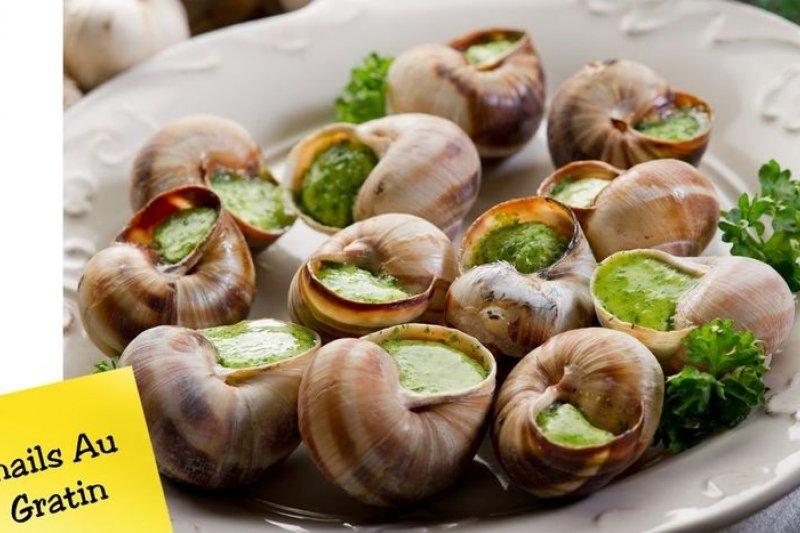 棘手的扁蟲問題,恐怕會讓焗烤蝸牛從法國人的餐桌消失。(取自網路)