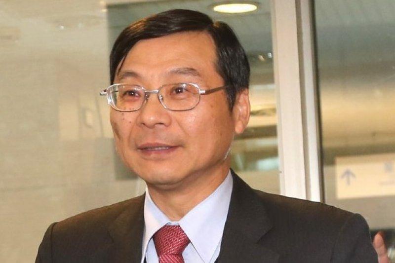 金管會主委曾銘宗表示,將會協助公營銀行整併。(吳逸驊攝)