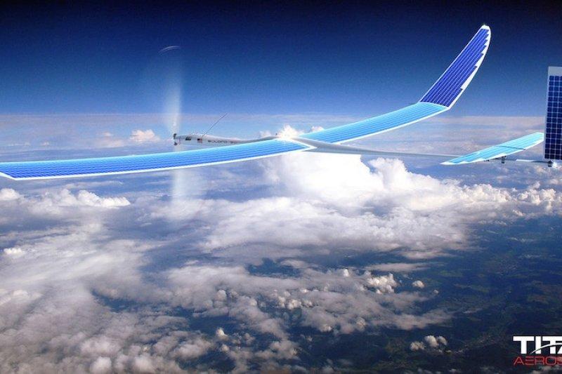 臉書買完即時通軟體,下一步將收購無人機廠商。(取自Titan Aerospace網站)