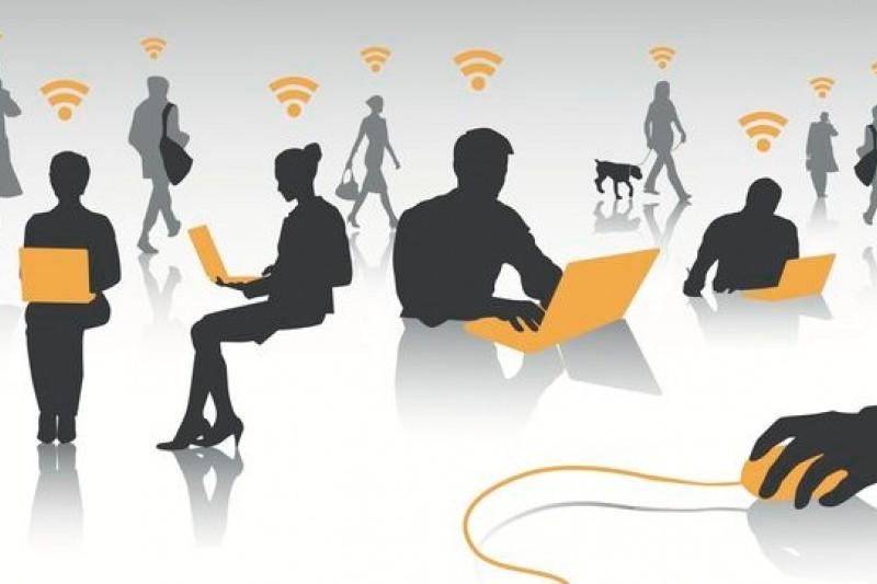 歐洲刑警組織提醒,公用wi-fi上網服務易成駭客竊取個資管道。(取自網路)