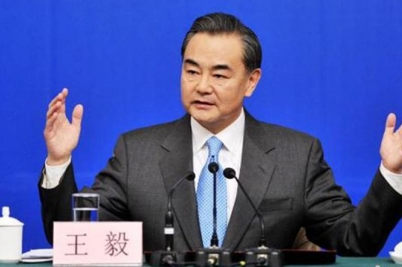 王毅在朝鮮半島上劃「紅線」。(中新網)