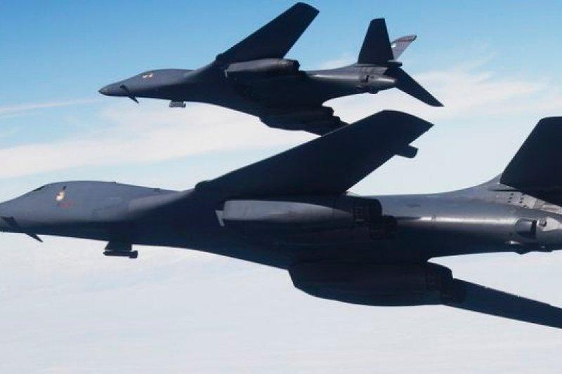 波音公司參與製造的美軍B1B轟炸機。(取自網路)