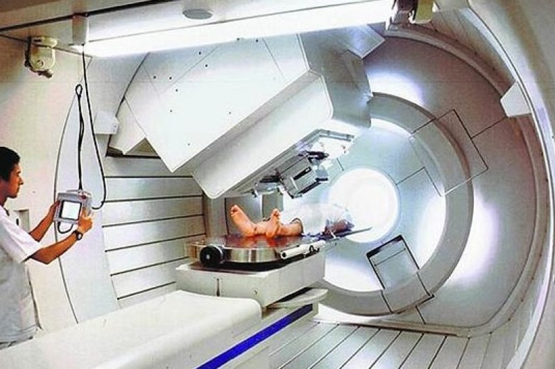 林口長庚質子醫療研究中心將於四月啟用(長庚提供)