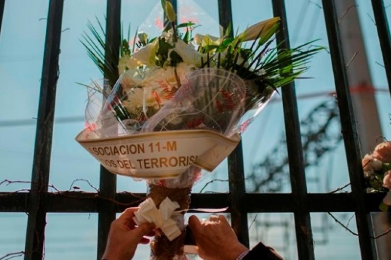 2014年3月11日是馬德里爆炸案10周年,多個受害者團體齊聚紀念儀式(美聯社)
