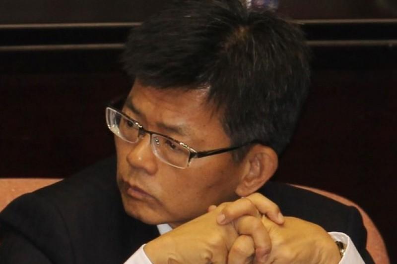 楊秋興三顧茅廬,王金平仍未允諾出任競選總部主委。(余志偉攝)