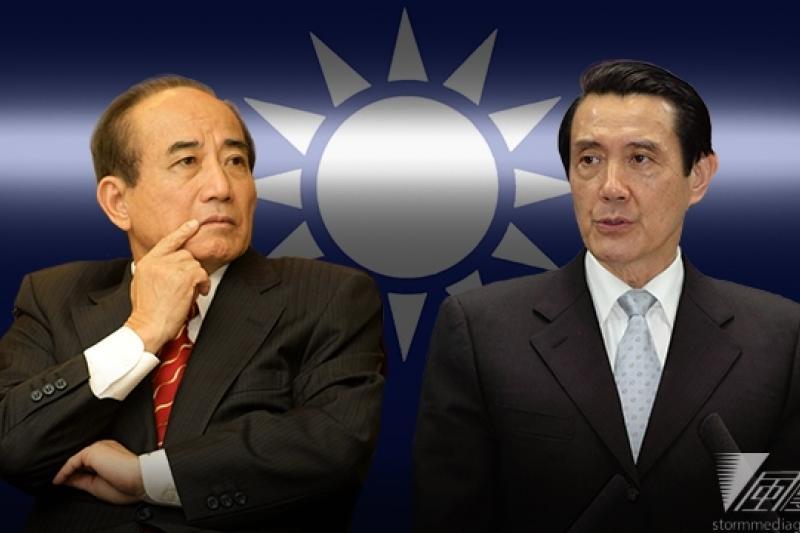 立法院長王金平拒絕出席總統馬英九召集的行政立法院際會議,馬王正式宣告撕破臉。(風傳媒合成)