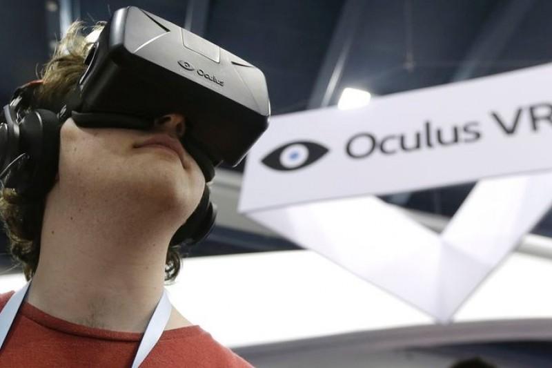 近來當紅虛擬實境裝置公司Oculus,25日傳出被臉書以20億美元買下。(美聯社)