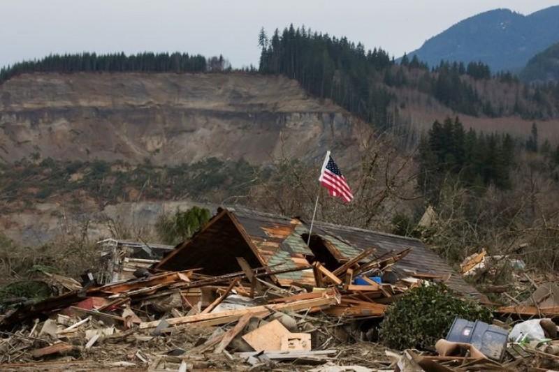 華盛頓州發生大山崩,死亡人數持續爬升(美聯社)