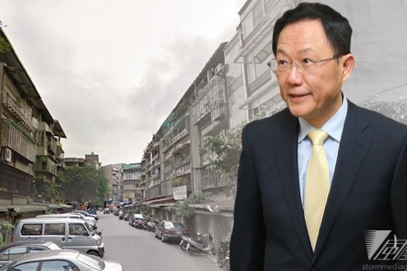 國民黨立委丁守中積極投入台北市長選舉,並將公辦大型都更列為首要政見。
