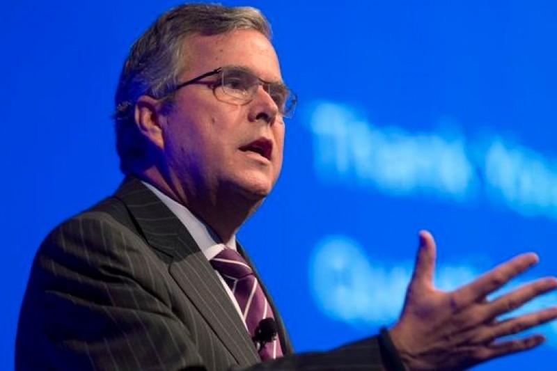 美國前佛州州長傑布布希是否參選2016總統大選,陷入長考。(美聯社)