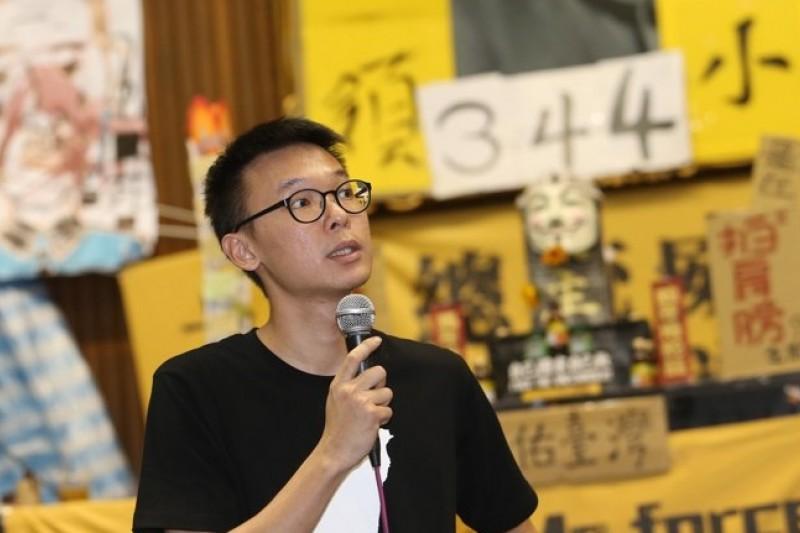 學運團體展現的組織與領導能力,連民進黨都自嘆,「被領導了。」(吳逸驊攝)