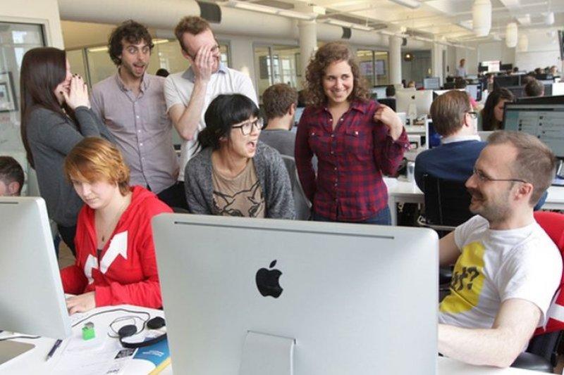 獲創投入資的Buzzfeed,編輯部從10人左右擴編到170人(取自網路)