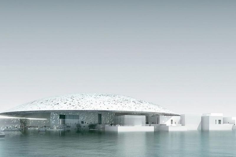 預計於2015年開幕的阿布達比羅浮宮(取自網路)