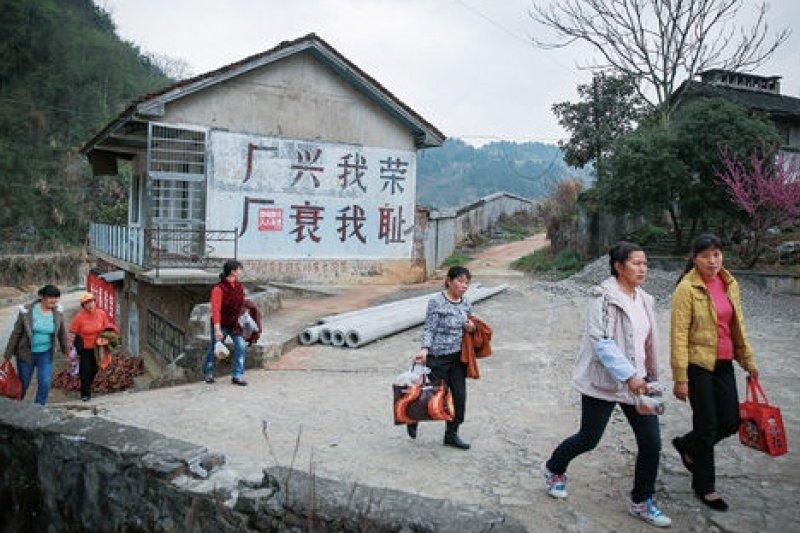 當年號稱「小香港」的磺廠社區,早已破敗不堪。(取自網路)