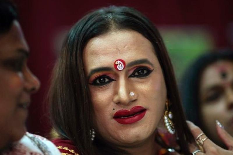 印度最高法院15日判決,承認變性人為合法第三性別。(美聯社)