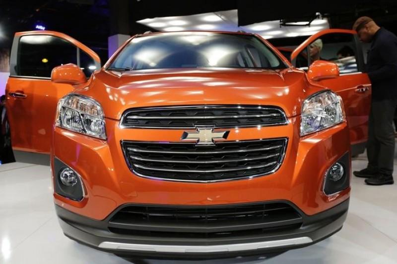 通用汽車今年的主力車款Chevrolet Trax(美聯社)