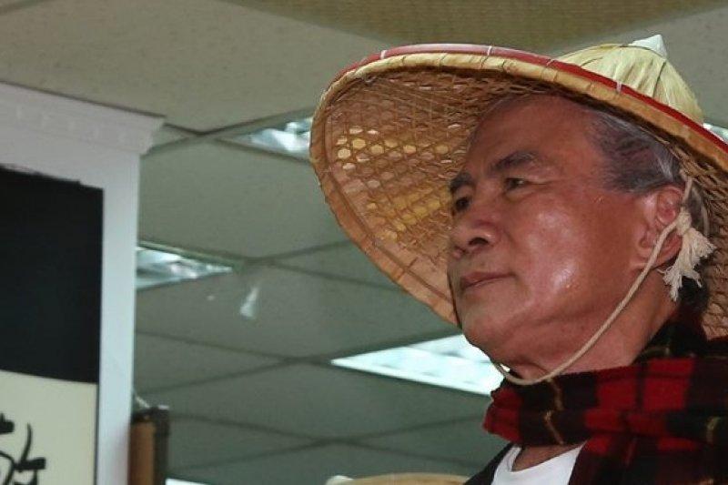 為了停建核四,民進黨前主席22日起開始禁食。(余志偉攝)