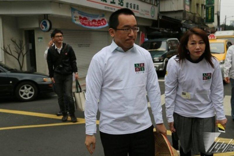 陳致中表示,核四問題關係到全台灣每一個人的命運,每個人都應該站出來,為了國家、土地來停建核四。(余志偉攝)