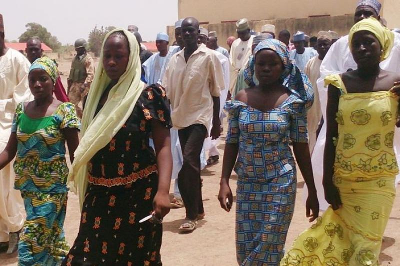 奈及利亞局勢動蕩,連單純的女學生,處境也岌岌可危。(美聯社)
