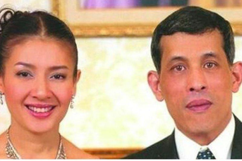 泰國王儲與王儲妃。