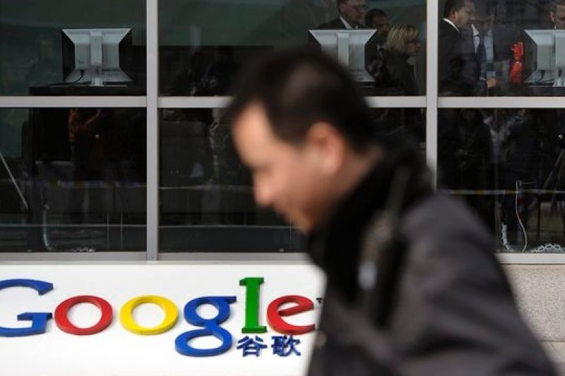 向中國的檢查制度說不,Google的Gmail服務在中國遭到封鎖(美聯社)