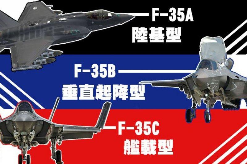 美國第5代戰機F35再爆誇張缺失。(圖片來源:Lockheed Martin, Superb Wallpaper, Wikipedia, 風傳媒製圖)