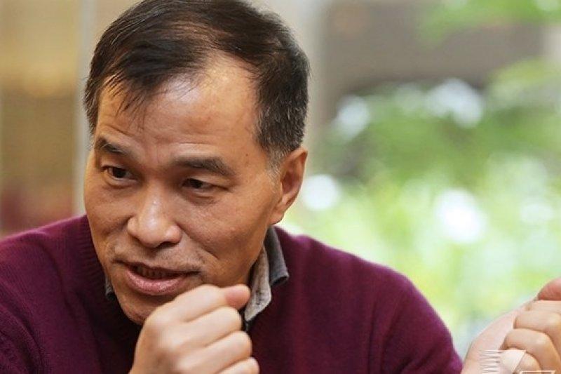 前交通部長葉匡時辭職後接受專訪,直指阻擋高鐵財改案的是大陸工程,「我沒有想到他們反撲的力道這麼強」。(楊子磊攝)