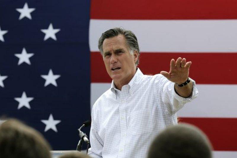 2012年美國共和黨總統候選人羅姆尼近來表示,有意再戰2016。(美聯社)