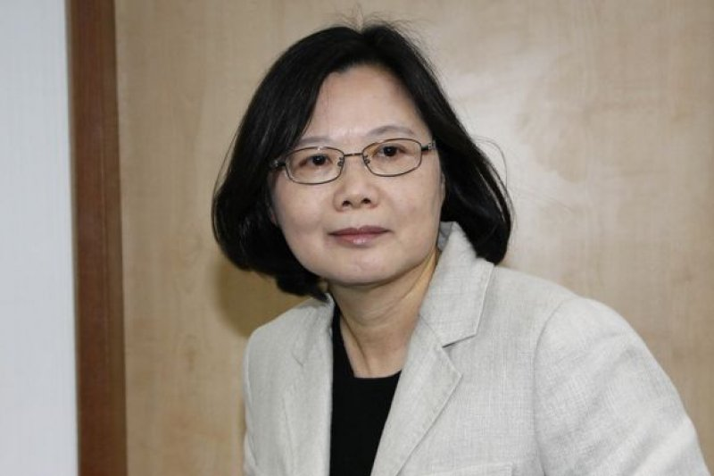 民進黨主席蔡英文將於15日重啟中國事務委員會的運作。(資料照/葉信菉攝)