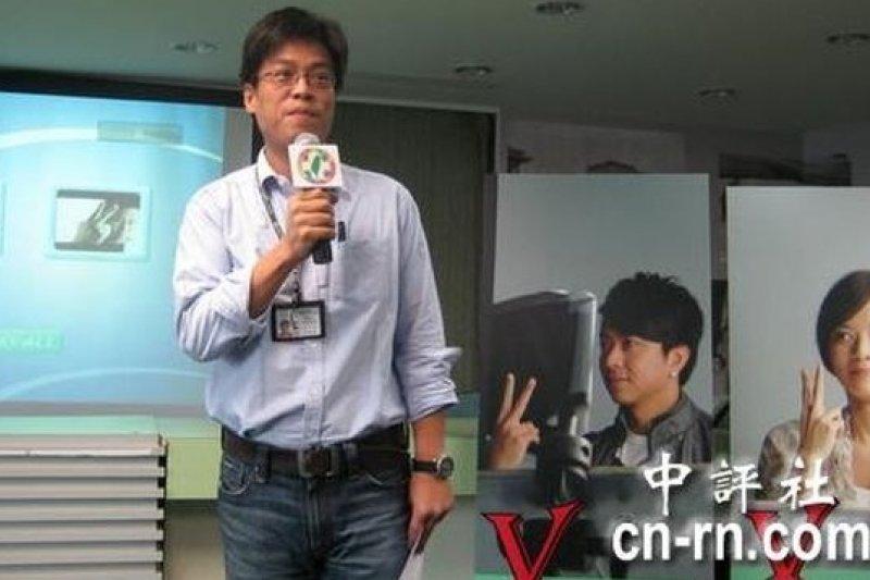 民進黨政策會首席副執行長黃重諺(中評社)