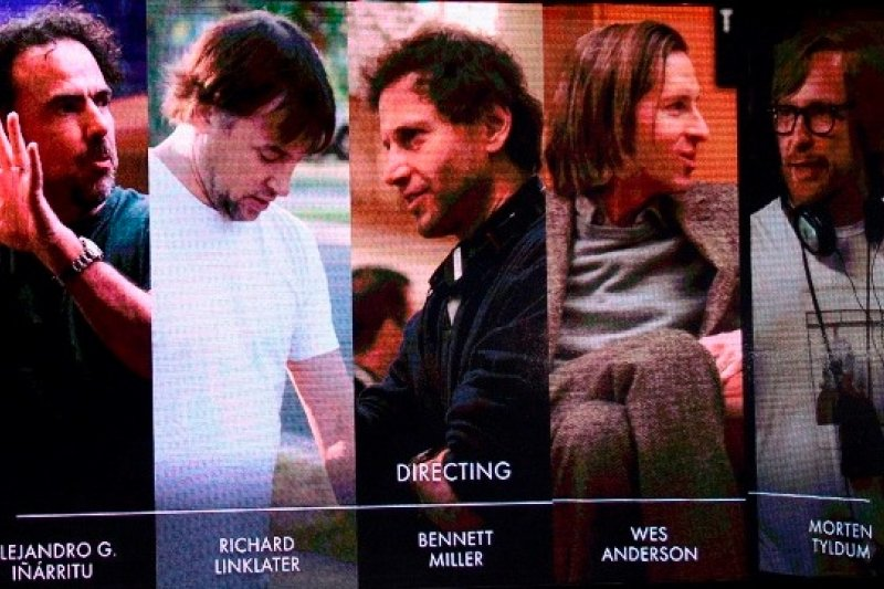 奧斯卡最佳導演提名中,《鳥人》導演阿利安卓伊納利圖成為唯一非白人男性的入圍者(美聯社)
