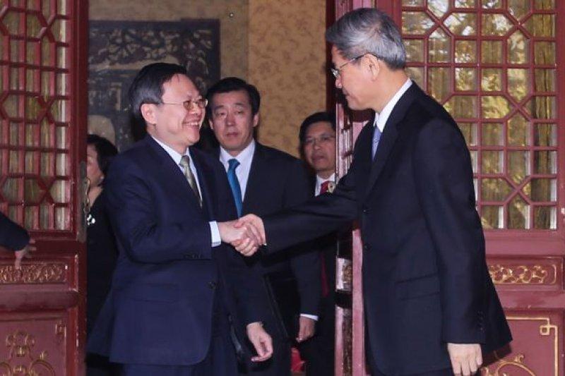 國民黨九合一選舉大敗,馬政府兩岸政策受挫,連帶北京對兩岸談判也意興闌珊。(王張會資料照/林韶安攝)