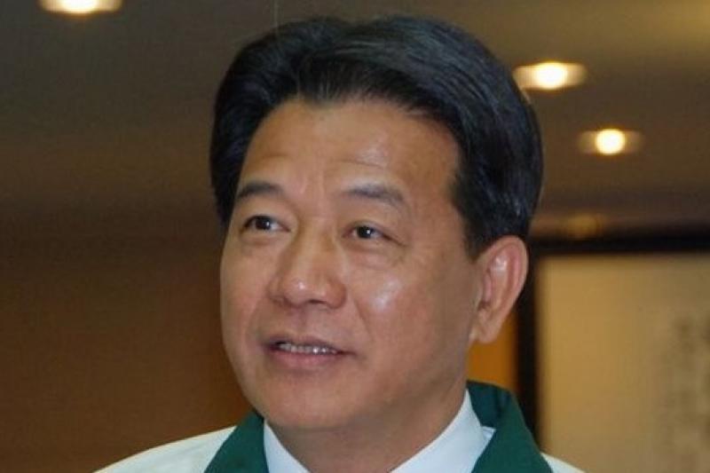 民進黨籍台南副議長郭信良曾收受鋼鐵公司財物一事,今被以詐欺罪嫌起訴。(取自民進黨網站)
