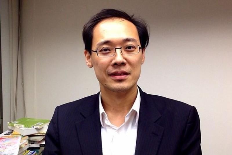楊偉中回鍋擔任國民黨發言人。(資料照/羅暐智攝)
