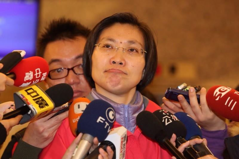 徐欣瑩說,她選擇一條辛苦的道路,包含地方選民和黨內同志都對她有些不諒解。(楊子磊攝)