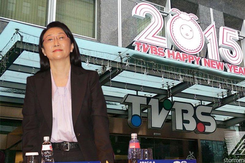 有意將資源集中在香港、大陸及其他市場,香港TVB宣布將以46.95億台幣出售TVBS53%股權,這也形同大股東王雪紅將全面掌控TVBS。(吳逸驊、閰紀宇攝/風傳媒合成)