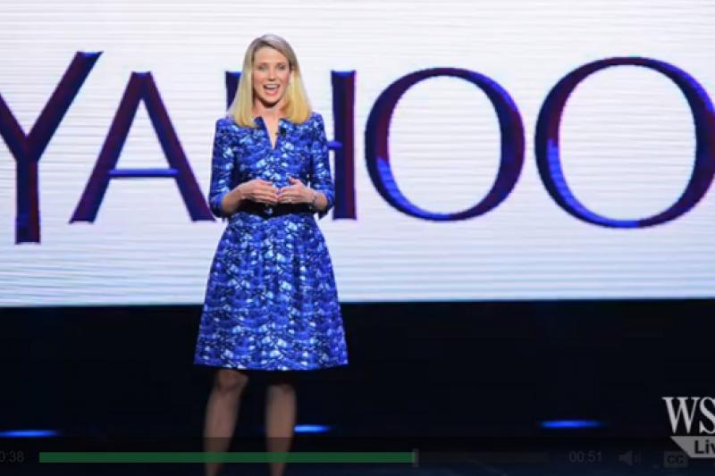 YAHOO宣布以「無稅分拆」,出售其持有的阿里巴巴15%股權。(取自視頻畫面)
