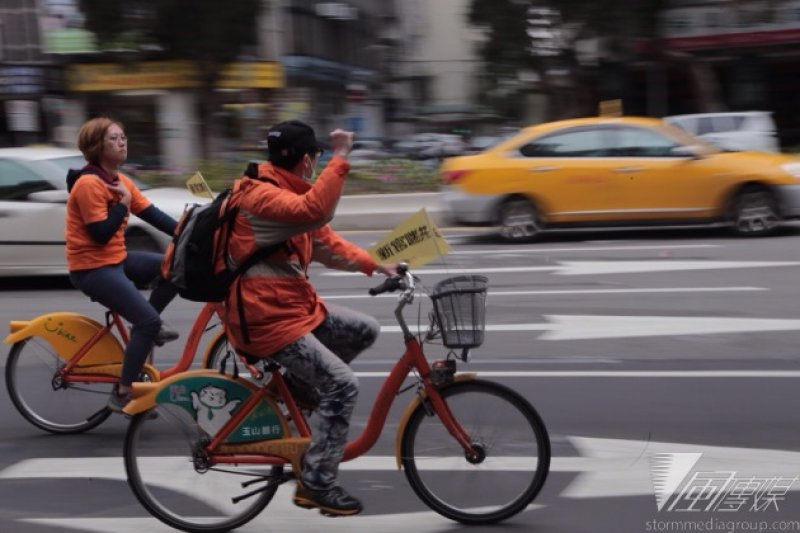 柯P上任對前有的各項公共建設進行檢討,風評好、使用民眾多的微笑單車也被掃到。(資料照片,楊子磊攝)
