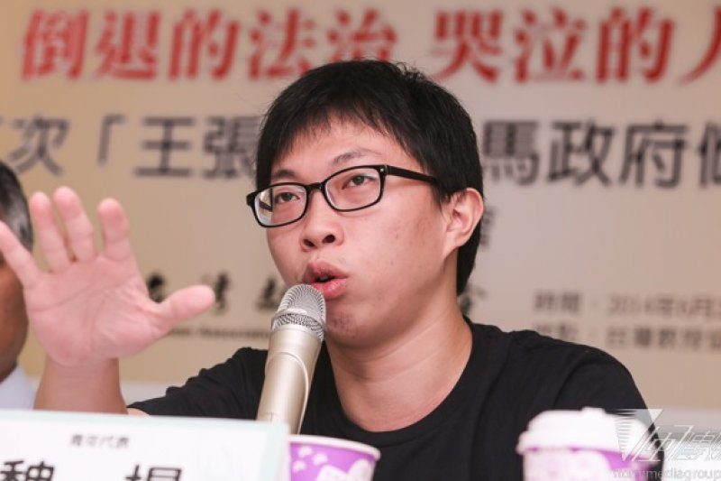 太陽花學運領袖魏揚等遭以《妨害公務》等罪起訴。(資料照片)