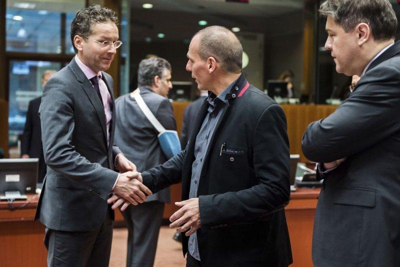 希臘與歐元區的交手,到目前為止算是步步敗退。(美聯社)