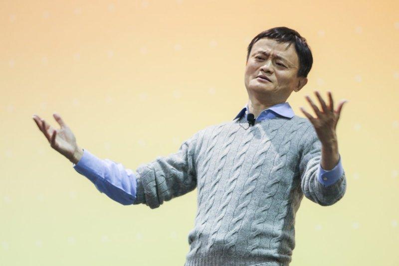 中國阿里巴巴集團主席馬雲(圖)將成立100億元創投資金鼓勵台灣青年創業,國發會回應「中國法制不透明、潛規則多,創業風險極高,絕非台灣年輕人新創事業的首選」。(林韶安攝)