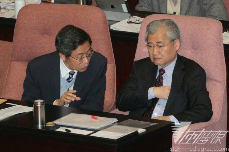 行政院長毛治國6日在立法院表示,核一是否除役,仍須考量整體能源狀況。(余志偉攝)