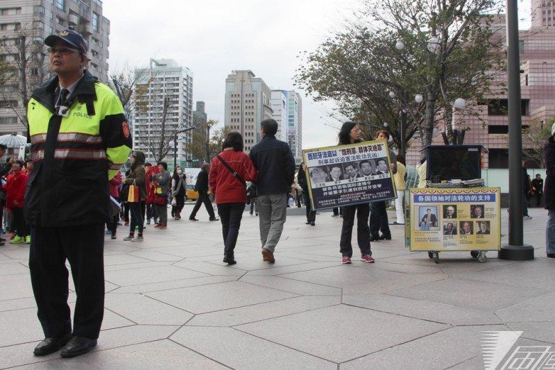 台北市長柯文哲9日表示,若要在101前的廣場抗議,也要有「意見表達區」。(資料照,葉信菉攝)