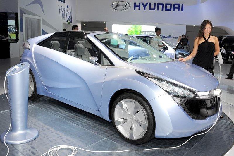 南韓在觀光勝地濟州島力推電動車,打造零碳環境。